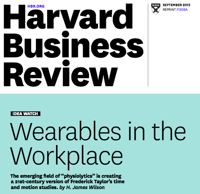 Harvard Business Review - Olivier Janin